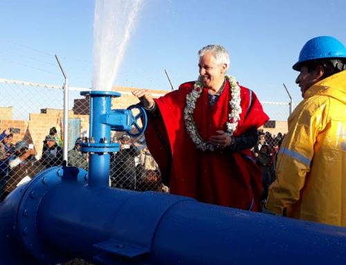 Sistema de agua potable beneficia a 130 mil habitantes de El Alto