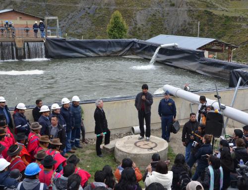 Diez obras garantizan agua potable en La Paz y El Alto por 30 años
