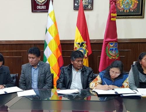 Oruro inicia plan para mejorar drenaje pluvial