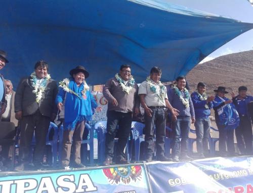 El municipio de Coipasa contará con agua potable