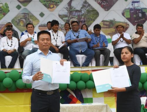 Gobierno concreta construcción de megaobra de agua potable para Trinidad