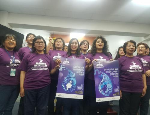 Sensibilizan sobre la lucha contra la violencia a través de facturas de agua