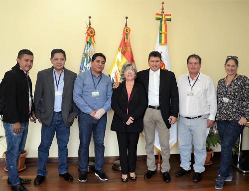 MMAyA y Amdecruz afinan proyectos para municipios en la Chiquitania