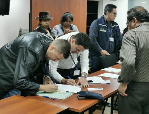 MMAyA alcanza acuerdos por cuenca Huanuni