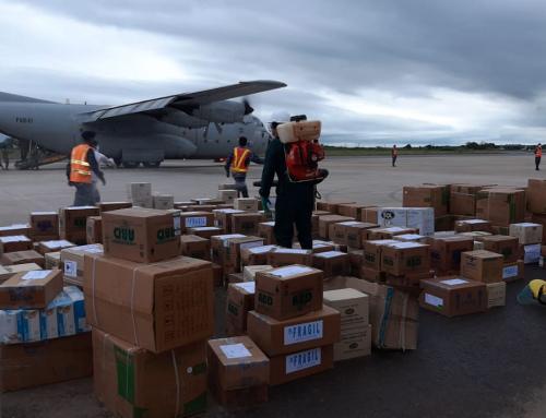 Pandinos reciben alimentos y medicamentos gestionados por el Ministerio de Medio Ambiente y Agua