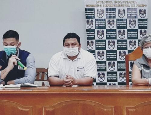 Suman 5 nuevos casos por Coronavirus en el departamento de Pando