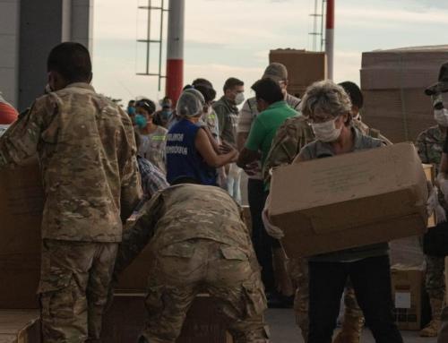Material de protección llega a Montero para reforzar control de la pandemia