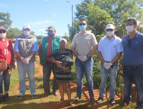 2.500 familias chiquitanas reciben canastas familiares solidarias