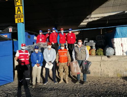 Donación de Unicef llega a bolivianos en cuarentena en Pisiga