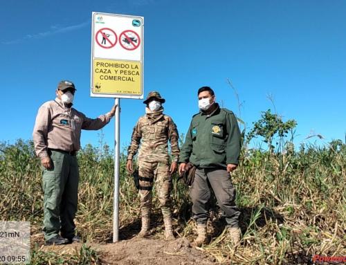 Continúa con los controles de monitoreo ambiental y fiscalización el Parque Nacional Otuquis
