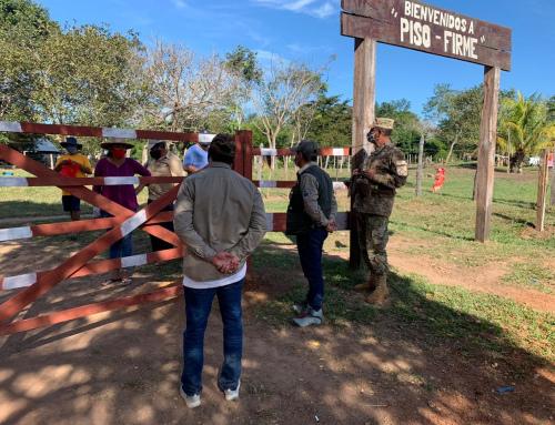 SERNAP continúa entregando víveres a más 100 familias del Parque Nacional Noel Kempff Mercado