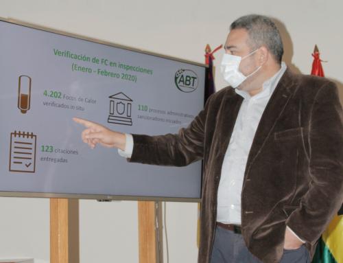 ABT brinda reporte semestral de focos de calor y advierte mayor control tras iniciar la cuarentena dinámica