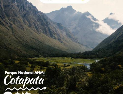 El Parque Nacional y Área Natural de Manejo Integrado Cotapata, cumple 27 años de creación conservando gran diversidad de ecosistemas y belleza natural