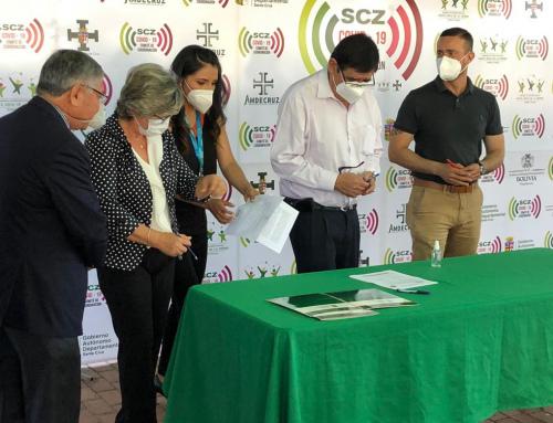 El Ministerio de Medio Ambiente y Agua firma convenio de cooperación interinstitucional con la Universidad Autónoma Gabriel René Moreno
