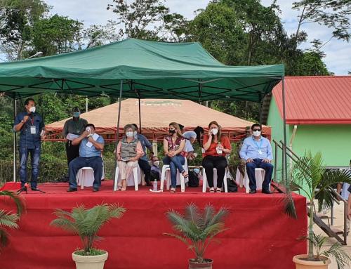 Entregan proyecto de sistema de agua potable y mejoramiento del alcantarillado de Cobija