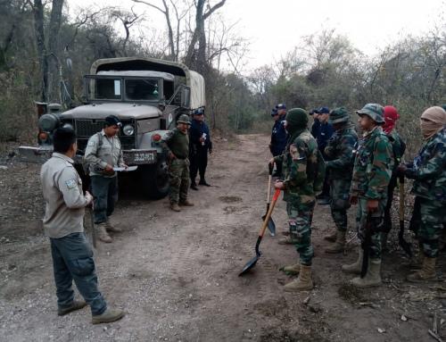 Se suman esfuerzos para combatir incendio en la comunidad de Busuy dentro del Parque Aguaragüe