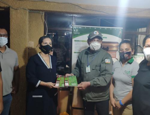 Área Natural de Manejo Integrado San Matías recibió equipamiento de campo, medicamentos y guía de plantas forrajeras