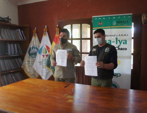 SERNAP firmó un convenio que fortalece la conservación y protección de especies en el Parque Nacional Torotoro