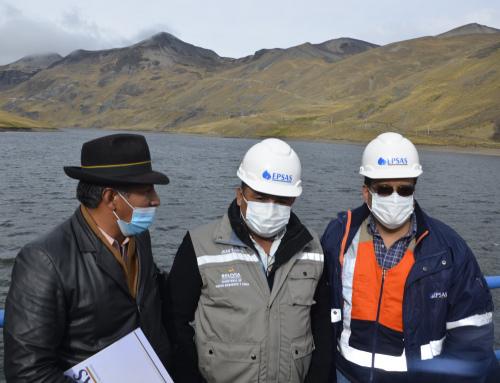 Ministerio de Medio Ambiente garantiza el suministro de agua en La Paz