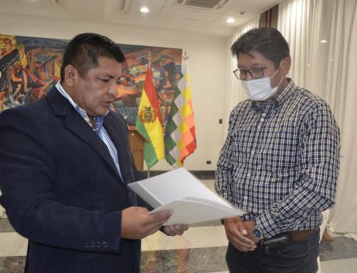 Magin Herrera asume como Viceministro de Medio Ambiente y Biodiversidad
