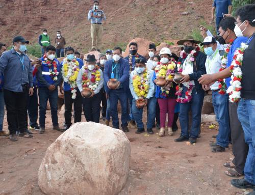 MINISTRO ENTREGÓ  OBRAS  MECÁNICAS DE RESILIENCIA AL CAMBIO CLIMÁTICO EN CAMARGO