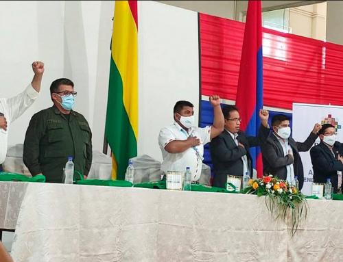 MÁS DE MIL MILLONES DE BOLIVIANOS EN INVERSIÓN EN PROYECTOS DE AGUA A NIVEL NACIONAL