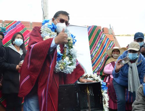 MÁS DE UN MILLÓN DE BOLIVIANOS DE INVERSIÓN EN LA «AMPLIACIÓN DE SISTEMA DE AGUA POTABLE» EN EL DISTRITO 7 DE EL ALTO