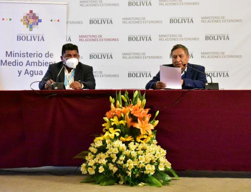 MMAyA y Cancillería anuncian la participación de Bolivia en la cumbre de Naciones Unidas sobre los sistemas alimentarios