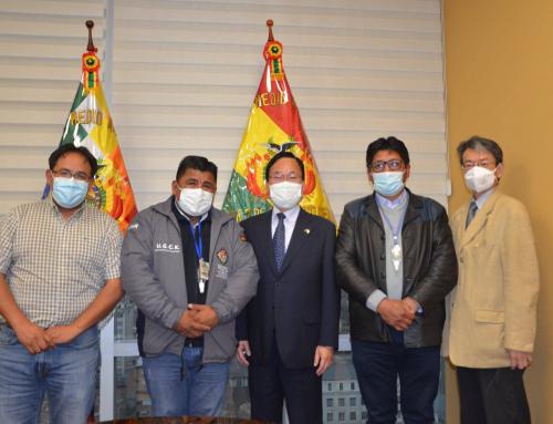 Autoridades del MMAyA sostienen reunión con Cuerpo Diplomático del Japón