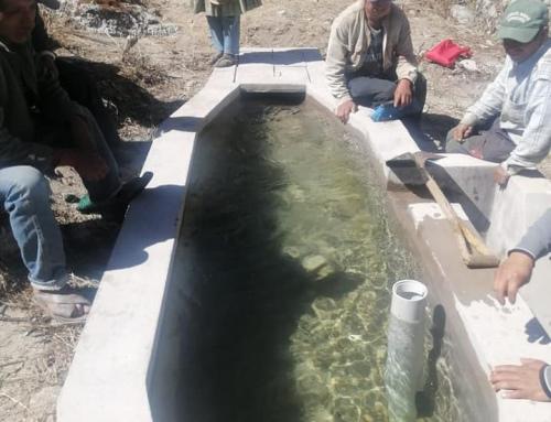 MMAyA impulsa talleres de capacitación a comunidades en temas mantenimiento de sistemas de riego