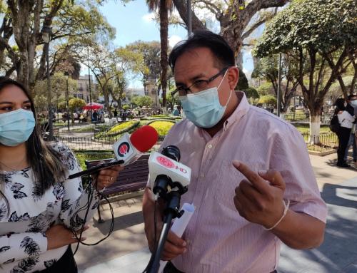 MMAyA informa sobre el avance de obras ejecutadas para las zonas altas de Sucre