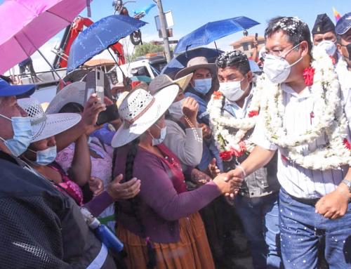 Gobierno Nacional a través del MMAyA hace la entrega del Sistema de agua potable para el sur de Cochabamba e inicia «aducción 2.2.»