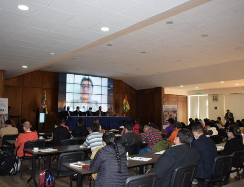 """MMAyA organizó el """"1er Encuentro Nacional de Municipios con Áreas Protegidas Municipales"""""""