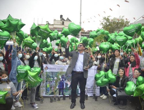 Por el día de la juventud, las Brigadas Juveniles en Defensa del Medio Ambiente se movilizan en caravana generando conciencia ambiental