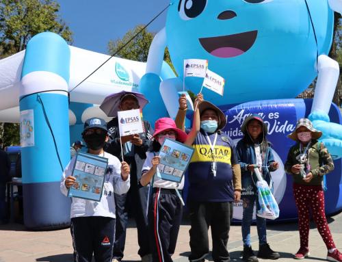 MMAyA impulsa feria educativa en el marco del Dia Mundial del Lavado de Manos