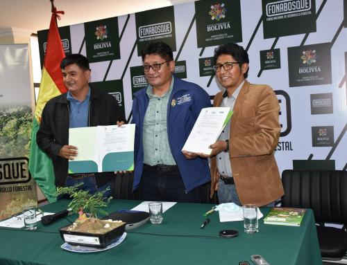 Gobierno Nacional coordina la firma de convenio de cooperación interinstitucional entre el Instituto Nacional de Innovación Agropecuaria y Forestal (INIAF) y el Fondo Nacional de Desarrollo Forestal (FONABOSQUE)